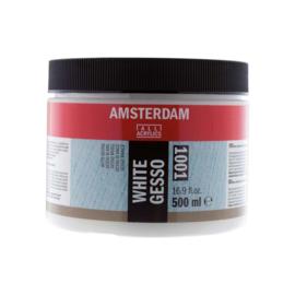 Amsterdam gesso wit  1001--500ml