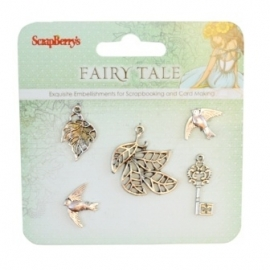 Metal charms set Fairy Tale 2 SCB25002025