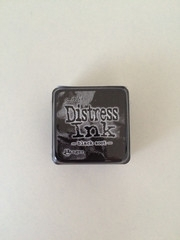 Distress mini inkt kussen - black soot
