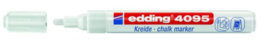 edding 4095 krijtstift wit 2-3 mm 394095/0049