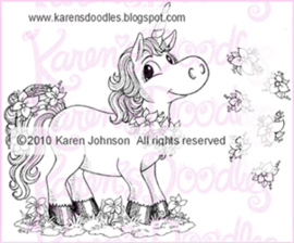 Karen's doodles pretty unicorn set KDR0019
