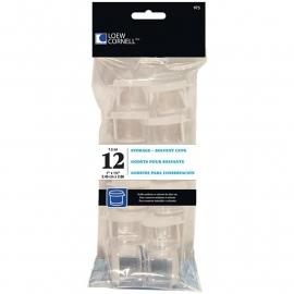 Acrylic Storage Cups 12/Pkg L975
