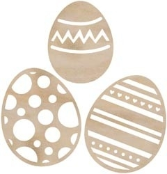 Wood Flourishes eggs