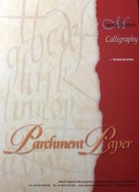 manuscript kalligrafie parchment paper  A4  MC303