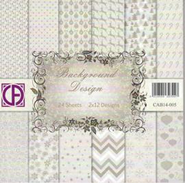 background design 24 vel 2 x12 designs CAB14-005