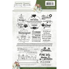 clear stamps fantastic flowers nederlandse teksten pmcs10019