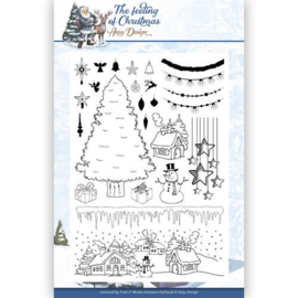 Card Deco - Amy Design - Clearstamp - The feeling of Christmas ADCS10019