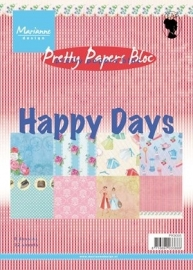 Pretty Papers bloc Happy Days pk9095