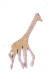 giraf mini mdf050