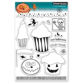 Penny Black T for transparant clearstempel halloween treats  Product No: 30-078