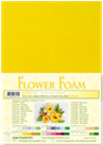 flower foam A4 Sunflower yellow 25.4155