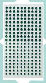 Stras steentjes groen 7,5X13,5CM / 200 ST [107000/1306]
