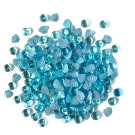 Buttons Galore Shimmerz Embellishments 18g Splash