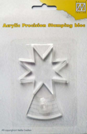 acrylic precision stamping bloc APSB001