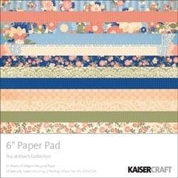 "Tea At Elsie`s Paper Pad 6""X6"""