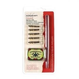 kalligrafieset Dip pen en nibs round hand set no.2  MDP2036
