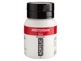 Amsterdam acrylverf wit 500ml 105