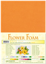 flower foam A4 Orange 25.4162