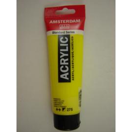 Amsterdam acrylverf tube 120ml Primairgeel 275