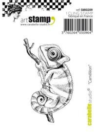 cling stamp cameleon  ca. 7,5xca. 3,5 cm SM10209