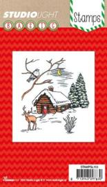 clear stamp kerst/winter afbeeldingenSTAMPSL153