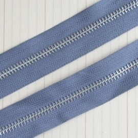 Zipper Trim earl grey  1 Meter ritsband [002986/1705]