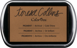 teresa Collins Pigment Ink  Pad Gold shine  TC1550 8