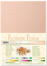 flower foam A4 Salmon 25.4186