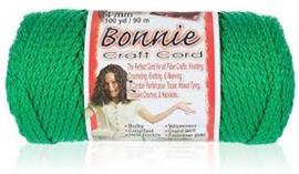 macrame cord  Bonnie Kelly green