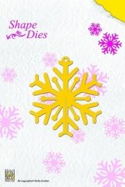 Nellie Snellen - Shape Die - Snowflake  SD006
