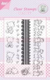 Joy Juni Stempel beren in rij 6410/0319