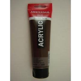 Amsterdam acrylverf tube 120ml Omber gebrand 409