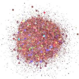 Cosmic Shimmer Holographic Glitterbitz Blush Haze