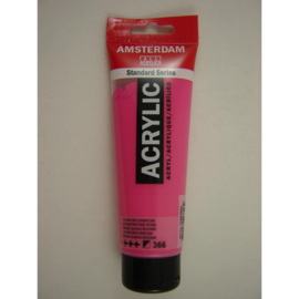 Amsterdam acrylverf tube 120ml Quinarcridonerose 366