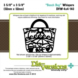 Die-Versions - Whispers - Beach Bag DVW-4x4-140