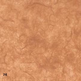 """mulberry papier 25grams """"kozo""""papier 64x47cm bruin (gevouwen naar ca. 21.5x15.5cm)"""