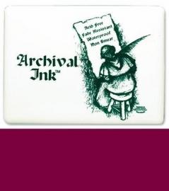 Archival Ink kussen plum 5,5X9,0CM / 1 ST [180002/0322]