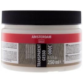 Amsterdam gesso transparant 250ml  300