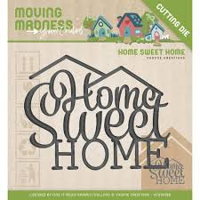 YCD10098 Moving Madness Home sweet home mal