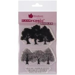 Woodware Clear magic stamps