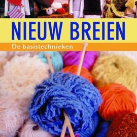 Nieuw breien- de basistechnieken- Margriet Brouwer