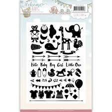 Welcome Baby Clear stamp YCCS10040