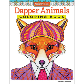 kleurboek Designs originals Dapper Animals