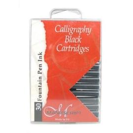 kalligrafie vullingen Zwart 30 stuks  MC0401CB