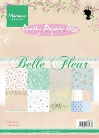 Pretty Papers bloc Belle Fleur PK9105