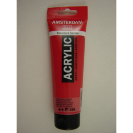 Amsterdam acrylverf tube 120ml Naftolrood Donker 399