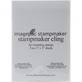 "Imagepac Cling Stamp Film 3""X4"" 2/Pkg"
