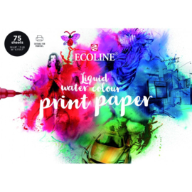 ecoline liquid water colour print paper 75 vel 150gram A4  91580002