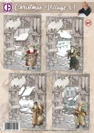Christmas Village 01 SWK85-0111  NIEUW!!!!