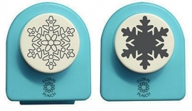 "Floral punch jumbo set ""snowflake"" FLP040"